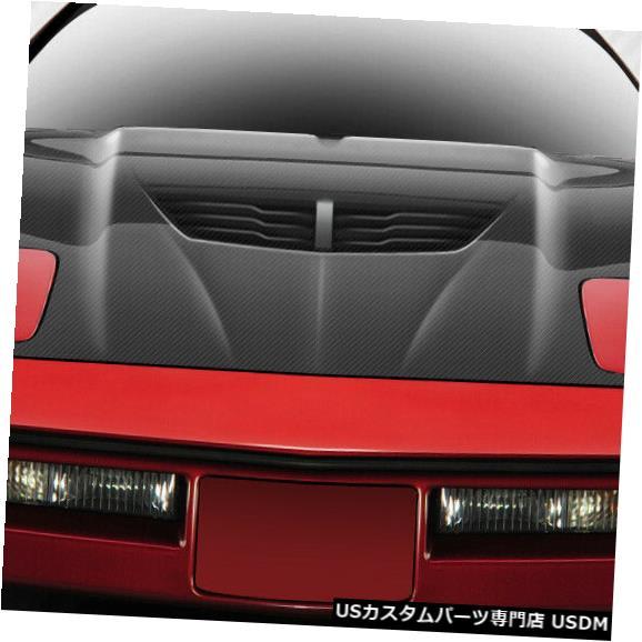 ボンネット 84-96シボレーコルベットスティングレイZカーボンファイバークリエーションズボディキット-フード112406 84-96 Chevrolet Corvette Stingray Z Carbon Fiber Creations Body Kit- Hood 112406