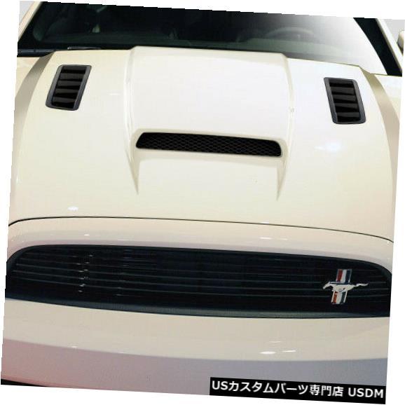 ボンネット 13-14フォードマスタングCV-Xデュラフレックスボディキット-フード!!! 109258 13-14 Ford Mustang CV-X Duraflex Body Kit- Hood!!! 109258