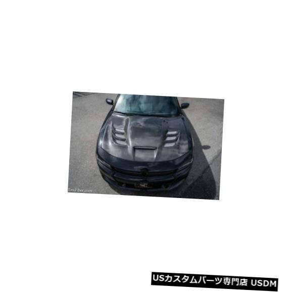 ボンネット 15-17ダッジチャージャーTruFiberカーボンファイバーディアブロボディキット-フード!!! TC20022-A80 15-17 Dodge Charger TruFiber Carbon Fiber Diablo Body Kit- Hood!!! TC20022-A80