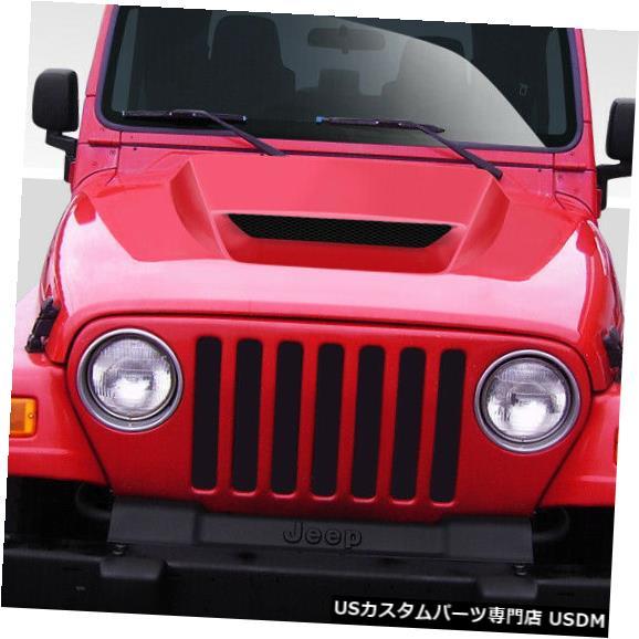 ボンネット 97-06ジープラングラーCV-Xデュラフレックスボディキット-フード!!! 109257 97-06 Jeep Wrangler CV-X Duraflex Body Kit- Hood!!! 109257