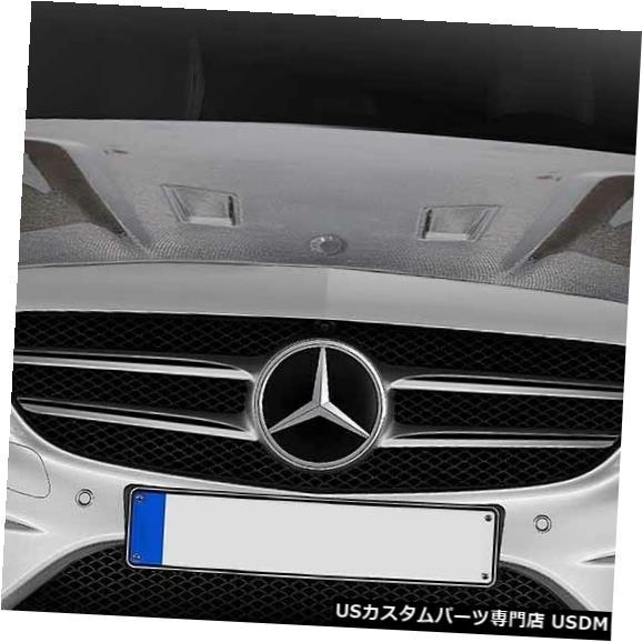 ボンネット 15-19メルセデスCクラスブラックシリーズカーボンファイバーボディキット-フード!!! 114008 15-19 Mercedes C Class Black Series Carbon Fiber Body Kit- Hood!!! 114008