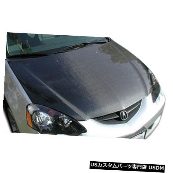 ボンネット 02-06 Acura RSX OEMカーボンファイバークリエーションボディキット-フード!!! 100384 02-06 Acura RSX OEM Carbon Fiber Creations Body Kit- Hood!!! 100384