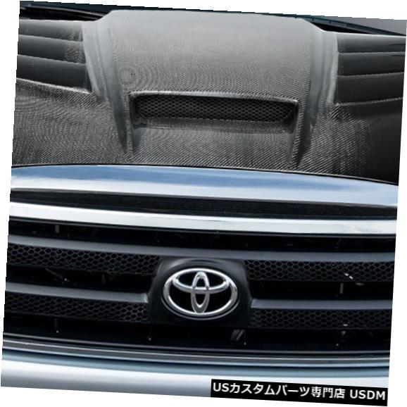 ボンネット 07-13トヨタツンドラバイパーカーボンファイバークリエーションズボディキット-フード!!! 113881 07-13 Toyota Tundra Viper Carbon Fiber Creations Body Kit- Hood!!! 113881