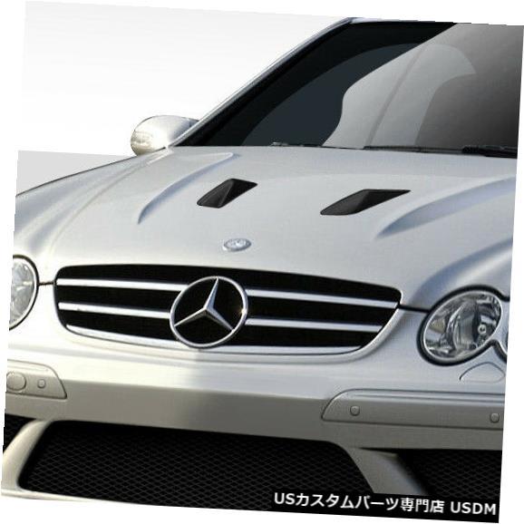 ボンネット 03-09メルセデスCLKブラックシリーズルックDuraflexボディキット-フード!!! 112195 03-09 Mercedes CLK Black Series Look Duraflex Body Kit- Hood!!! 112195