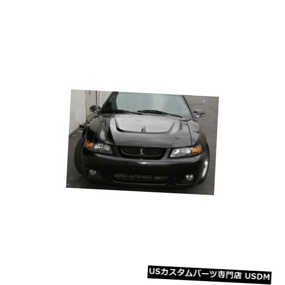 ボンネット 99-04フォードマスタングTruFiberモンスターボディキット-フード!!! TF10023-A28 99-04 Ford Mustang TruFiber Monster Body Kit- Hood!!! TF10023-A28