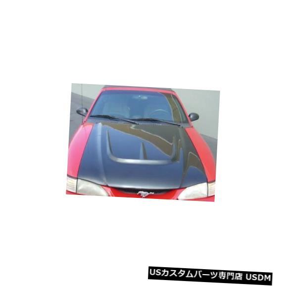 ボンネット 94-98フォードマスタングTruFiberモンスターボディキット-フード!!! TF10022-A28 94-98 Ford Mustang TruFiber Monster Body Kit- Hood!!! TF10022-A28