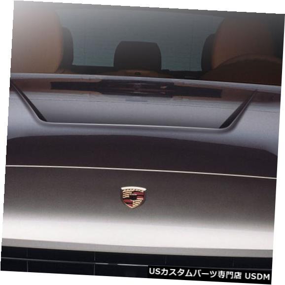 ボンネット 03-10ポルシェカイエンエロスV.2デュラフレックスボディキット-フード!!! 108583 03-10 Porsche Cayenne Eros V.2 Duraflex Body Kit- Hood!!! 108583