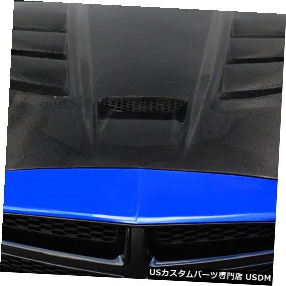 ボンネット 11-14ダッジチャージャーバイパールックDriTechカーボンファイバーボディキット-フード!!! 113116 11-14 Dodge Charger Viper Look DriTech Carbon Fiber Body Kit- Hood!!! 113116