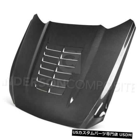 ボンネット 15-17フォードマスタングGT500アンダーソンカーボンファイバーボディキット-フードAC-HD15FDMU-GT 5-DS 15-17 Ford Mustang GT500 Anderson Carbon Fiber Body Kit- Hood AC-HD15FDMU-GT5-DS