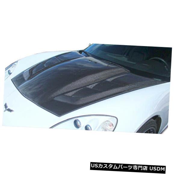 ボンネット 05-13シボレーコルベットH-Design DriTechカーボンファイバーボディキット-フード!!! 113127 05-13 Chevrolet Corvette H-Design DriTech Carbon Fiber Body Kit- Hood!!! 113127