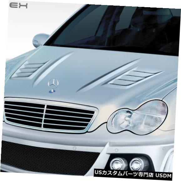 ボンネット 01-07メルセデスCクラスW-1デュラフレックスボディキット-フード!!! 108247 01-07 Mercedes C Class W-1 Duraflex Body Kit- Hood!!! 108247