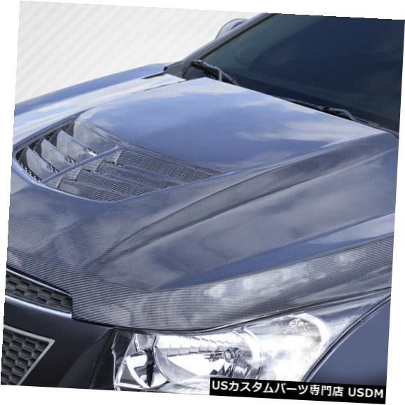 ボンネット 11-15シボレークルーズスティングレイZカーボンファイバークリエーションズボディキット-フード!!! 112408 11-15 Chevrolet Cruze Stingray Z Carbon Fiber Creations Body Kit- Hood!!! 112408