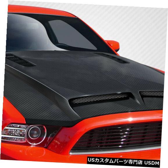 ボンネット 13-14フォードマスタングGT500カーボンファイバークリエーションボディキット-フード!!! 109260 13-14 Ford Mustang GT500 Carbon Fiber Creations Body Kit- Hood!!! 109260