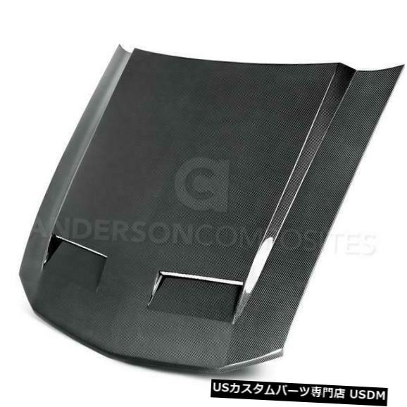 ボンネット 05-09フォードマスタングラムエアアンダーソンカーボンファイバーボディキット-フードAC-HD0506FDMU- CD 05-09 Ford Mustang Ram Air Anderson Carbon Fiber Body Kit- Hood AC-HD0506FDMU-CD