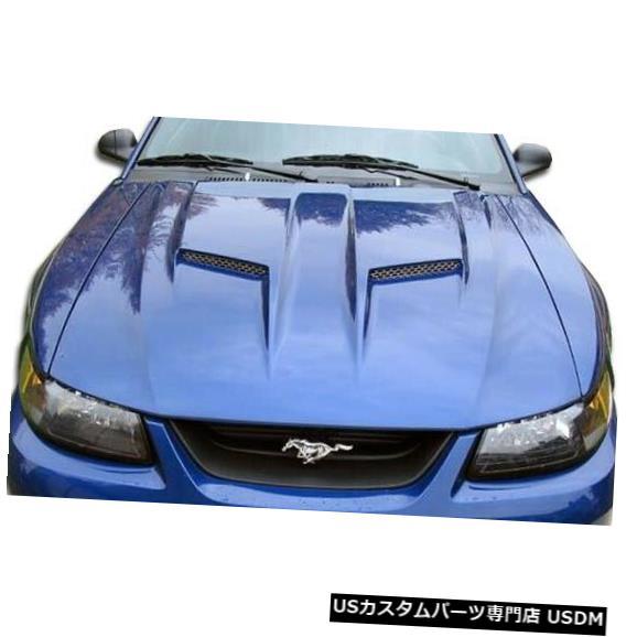 ボンネット 99-04フォードマスタングマッハ2 Duraflexボディキット-フード!!! 104772 99-04 Ford Mustang Mach 2 Duraflex Body Kit- Hood!!! 104772