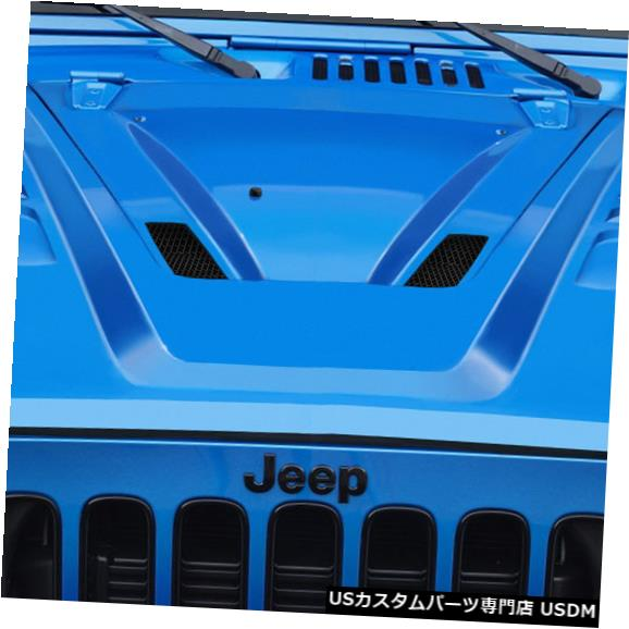 ボンネット 07-18ジープラングラーABRデュラフレックスボディキット-フード!!! 112796 07-18 Jeep Wrangler ABR Duraflex Body Kit- Hood!!! 112796