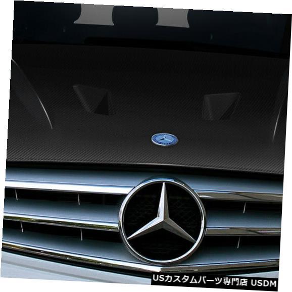 ボンネット 12-14メルセデスCクラスブラックシリーズルックカーボンファイバーボディキット-フード!!! 112323 12-14 Mercedes C Class Black Series Look Carbon Fiber Body Kit- Hood!!! 112323