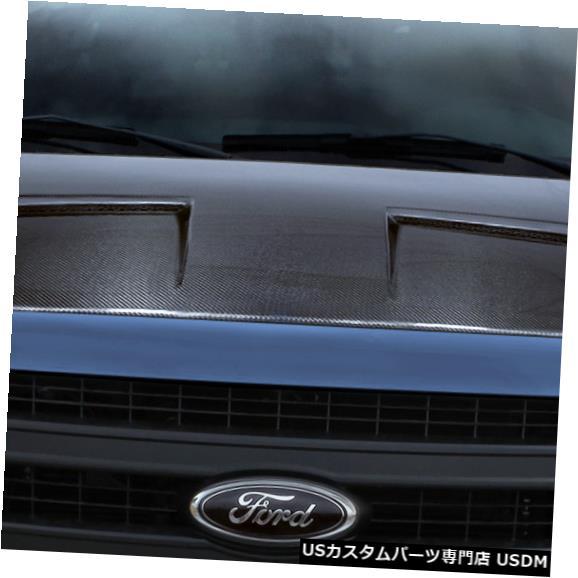 ボンネット 09-14フォードF150ラムエアDriTechカーボンファイバーボディキット-フード!!! 112936 09-14 Ford F150 Ram Air DriTech Carbon Fiber Body Kit- Hood!!! 112936