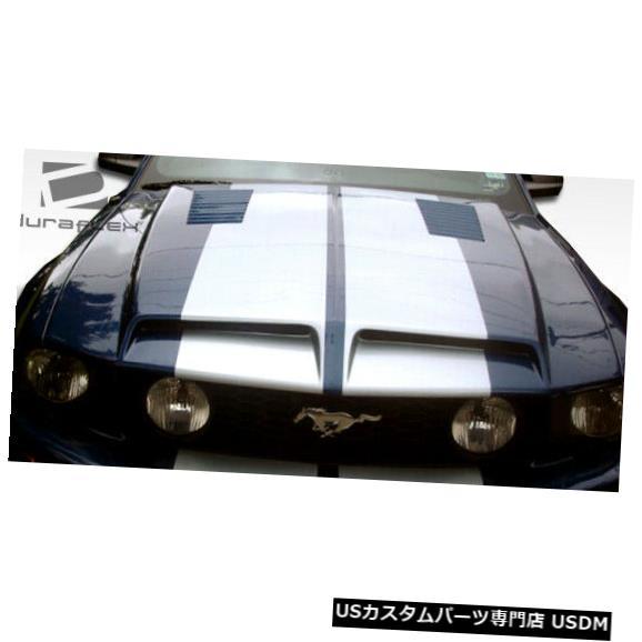 ボンネット 05-09フォードマスタングGT500ルックデュラフレックスボディキット-フード!!! 104717 05-09 Ford Mustang GT500 Look Duraflex Body Kit- Hood!!! 104717