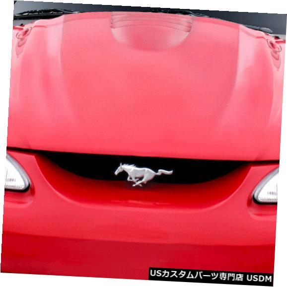 ボンネット 94-98フォードマスタングコブラRデュラフレックスボディキット-フード!!! 104708 94-98 Ford Mustang Cobra R Duraflex Body Kit- Hood!!! 104708