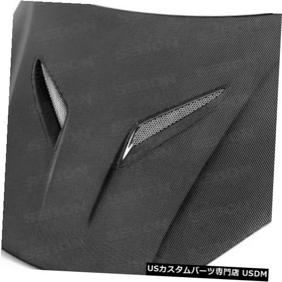 ボンネット 13-16ヒュンダイジェネシスOEセイボンカーボンファイバーボディキット-フッドHD1213HYGEN2D- OEに適合 13-16 Fits Hyundai Genesis OE Seibon Carbon Fiber Body Kit-Hood HD1213HYGEN2D-OE