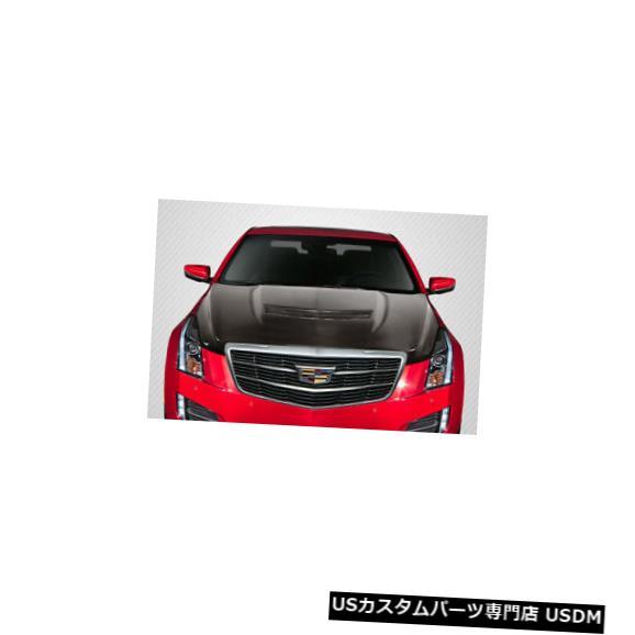ボンネット 13-19キャデラックATS Vルックカーボンファイバークリエーションズボディキット-フード!!! 115376 13-19 Cadillac ATS V Look Carbon Fiber Creations Body Kit- Hood!!! 115376