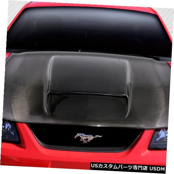ボンネット 99-04フォードマスタングCVXバージョン2 DriTechカーボンファイバーボディキット-フード!!! 112940 99-04 Ford Mustang CVX Version 2 DriTech Carbon Fiber Body Kit- Hood!!! 112940