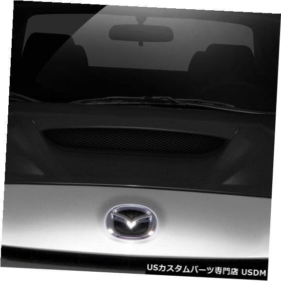 ボンネット 10-13マツダマツダ3 Mスピードカーボンファイバークリエーションボディキット-フード!!! 108683 10-13 Mazda Mazda 3 M-Speed Carbon Fiber Creations Body Kit- Hood!!! 108683