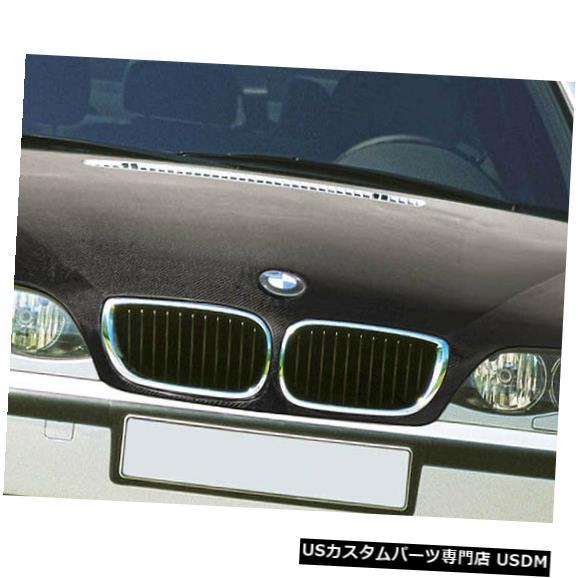 ボンネット 02-05 BMW 3シリーズ4DR OEMカーボンファイバークリエーションボディキット-フード!!! 106156 02-05 BMW 3 Series 4DR OEM Carbon Fiber Creations Body Kit- Hood!!! 106156