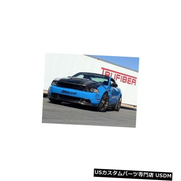 ボンネット 10-12フォードマスタングTruFiberカーボンファイバーラムエアボディキット-フード!!! TC10025-A61 10-12 Ford Mustang TruFiber Carbon Fiber Ram Air Body Kit- Hood!!! TC10025-A61