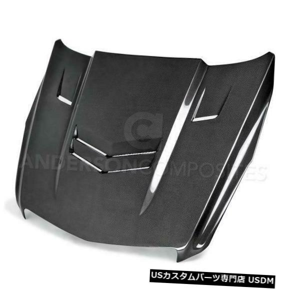 ボンネット 13-15キャデラックATSタイプ-VTアンダーソンコンポジットボディキット-フード!!! AC-HD13CAATS-V T 13-15 Cadillac ATS Type-VT Anderson Composites Body Kit- Hood!!! AC-HD13CAATS-VT