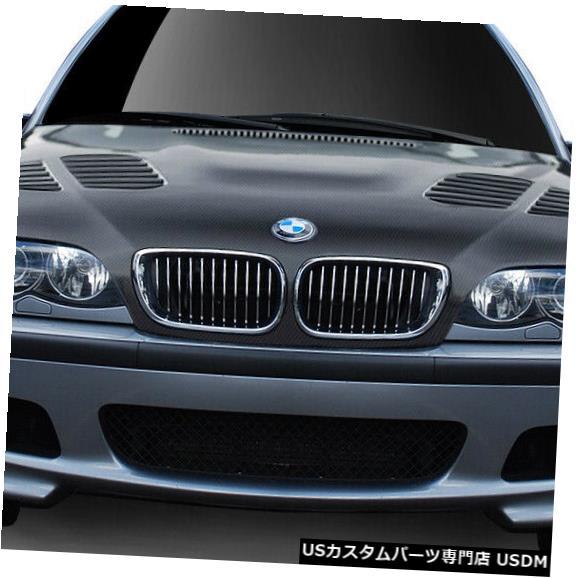 ボンネット 02-05 BMW 3シリーズAF-2エアロ機能CFPボディキットフード!!! 108935 02-05 BMW 3 Series AF-2 Aero Function CFP Body Kit Hood!!! 108935