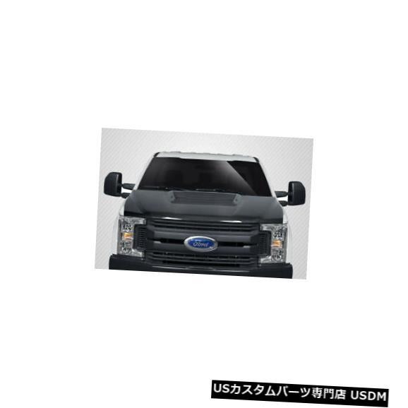 ボンネット 17-20フォードスーパーデューティラプタールックカーボンファイバークリエーションズボディキット-フード!! 115302 17-20 Ford Super Duty Raptor Look Carbon Fiber Creations Body Kit- Hood!! 115302