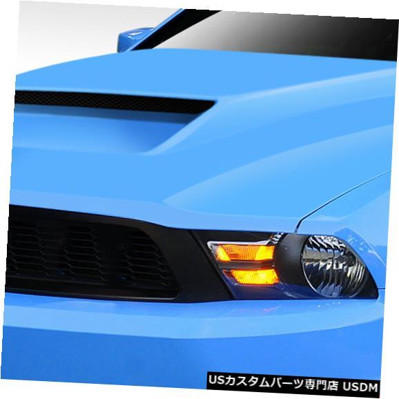 ボンネット 10-12フォードマスタングCV-X V.8デュラフレックスボディキット-フード!!! 112455 10-12 Ford Mustang CV-X V.8 Duraflex Body Kit- Hood!!! 112455