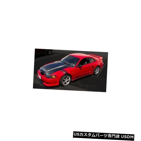 ボンネット 99-04フォードマスタングTruFiberカーボンファイバー3インチカウルボディキット-フード!!! TC10023-A49-3 99-04 Ford Mustang TruFiber Carbon Fiber 3