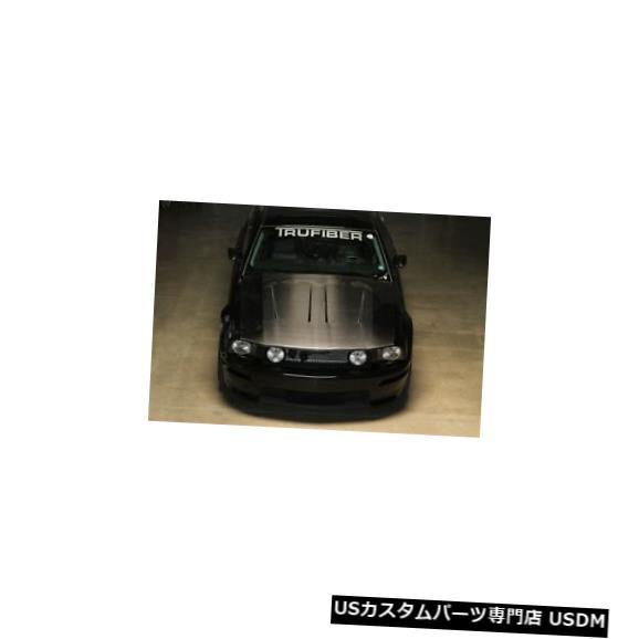 ボンネット 05-09フォードマスタングTruFiberカーボンファイバーSVTコブラボディキット-フード!!! TC10024-A45 05-09 Ford Mustang TruFiber Carbon Fiber SVT Cobra Body Kit- Hood!!! TC10024-A45