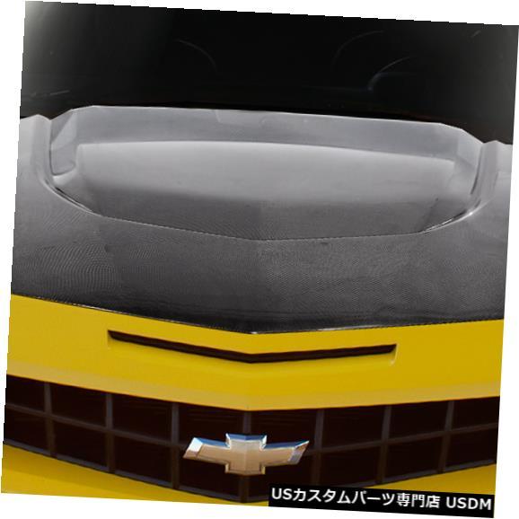 ボンネット 10-15シボレーカマロZL1バージョン2カーボンファイバークリエーションズボディキット-フード!!! 114067 10-15 Chevy Camaro ZL1 Version 2 Carbon Fiber Creations Body Kit- Hood!!! 114067