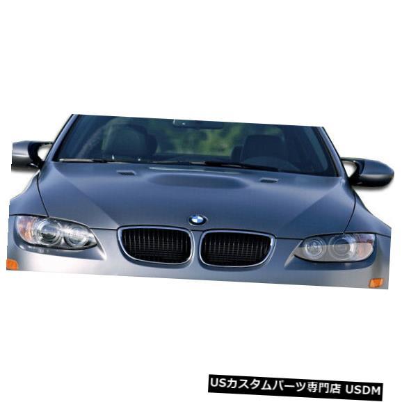 ボンネット 07-10 BMW 3シリーズコンバーチブルM3ルックDuraflexボディキット-フード!!! 107173 07-10 BMW 3 Series Convertible M3 Look Duraflex Body Kit- Hood!!! 107173