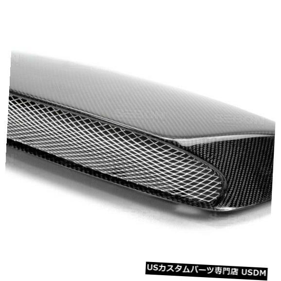ボンネット 06-07スバルインプレッサSTIセイボンカーボンファイバーフードスクープHDS0607SBIMP-Sに適合 TI 06-07 Fits Subaru Impreza STI Seibon Carbon Fiber Hood Scoop HDS0607SBIMP-STI