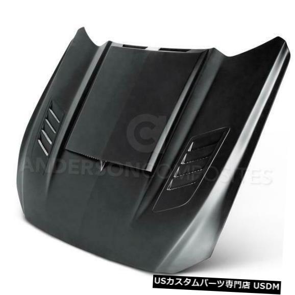 ボンネット 15-17フォードマスタングラムエアアンダーソングラスボディキット-フード!!! AC-HD15FDMU-AB -GF 15-17 Ford Mustang Ram Air Anderson Glass Body Kit- Hood!!! AC-HD15FDMU-AB-GF