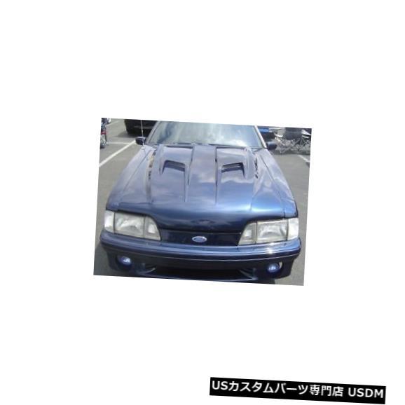 ボンネット 87-93フォードマスタングTruFiberマッハ2ボディキット-フード!!! TF10021-A38 87-93 Ford Mustang TruFiber Mach 2 Body Kit- Hood!!! TF10021-A38