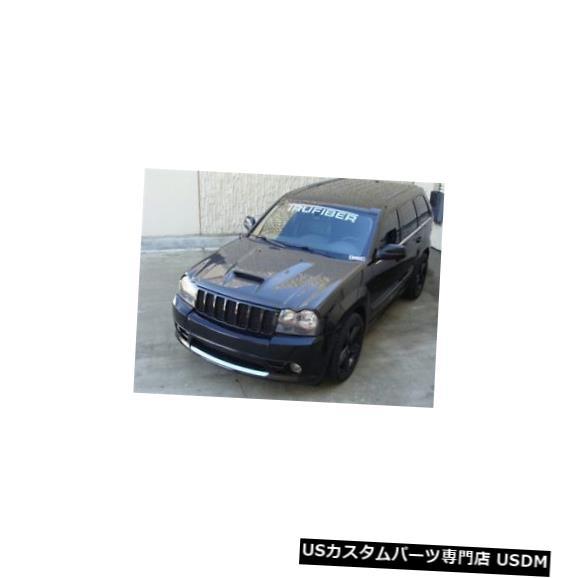 ボンネット 05-10ジープグランドチェロキーTruFiberカーボンファイバーSRT-8ボディキット-フードTC50020-A23 05-10 Jeep Grand Cherokee TruFiber Carbon Fiber SRT-8 Body Kit- Hood TC50020-A23