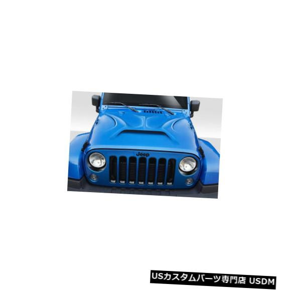 ボンネット 07-18ジープラングラープレデターデュラフレックスボディキット-フード!!! 114963 07-18 Jeep Wrangler Predator Duraflex Body Kit- Hood!!! 114963