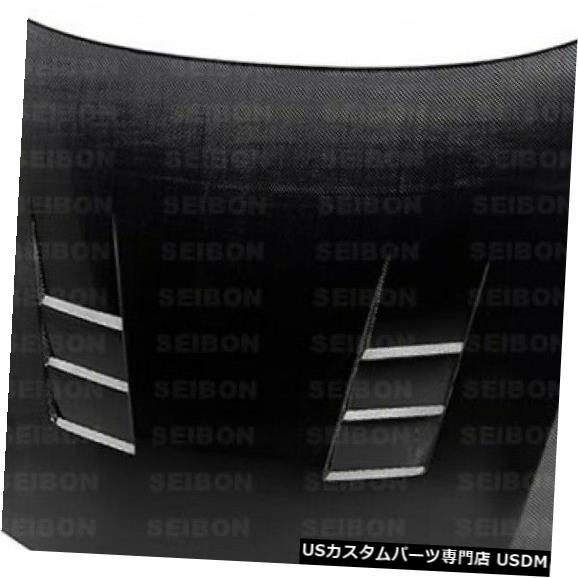 ボンネット 11-15 KIA Optima TSスタイルSeibonカーボンファイバーボディキットに適合-フード! HD1012KIOP-TS 11-15 Fits KIA Optima TS-Style Seibon Carbon Fiber Body Kit- Hood! HD1012KIOP-TS