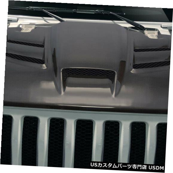 ボンネット 19-19ジープラングラーバイパーカーボンファイバークリエーションズボディキット-フード!!! 115031 19-19 Jeep Wrangler Viper Carbon Fiber Creations Body Kit- Hood!!! 115031