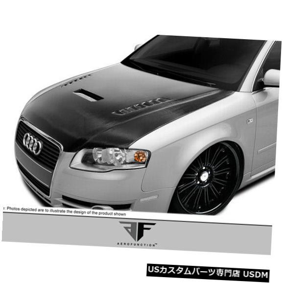 ボンネット 06-08アウディA4 AF-1エアロファンクションCFPボディキットフード!!! 107901 06-08 Audi A4 AF-1 Aero Function CFP Body Kit Hood!!! 107901