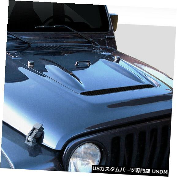 ベストセラー ボンネット 97-06ジープラングラーw ボンネット/ハイライン熱低減Duraflexボディキット-フード!!! w/ 108805 Duraflex 97-06 Jeep Wrangler w/ Highline Heat Reduction Duraflex Body Kit- Hood!!! 108805, プロショップ RBS:4c689591 --- briefundpost.de