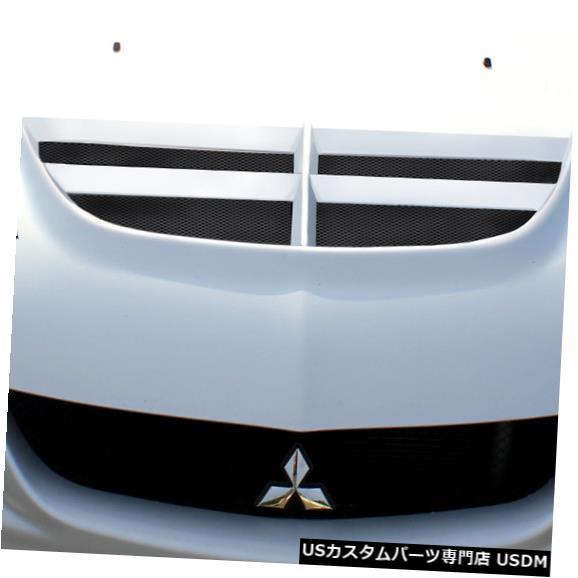ボンネット 03-06三菱エボリューションVT-Xデュラフレックスボディキット-フード!!! 113605 03-06 Mitsubishi Evolution VT-X Duraflex Body Kit- Hood!!! 113605