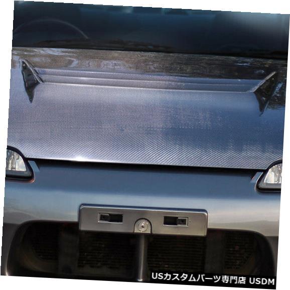 ボンネット 99-02適合日産S15シルビアHスポーツカーボンファイバーボディキット-フード104249 99-02 Fits Nissan S15 Silvia H-Sport Carbon Fiber Body Kit- Hood 104249