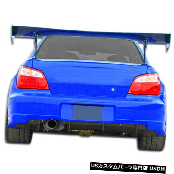 Rear Wide Body Kit Bumper 06-07スバルインプレッサ4DR GT500デュラフレックスリアワイドボディキットバンパー!!! 107270 06-07 Subaru Impreza 4DR GT500 Duraflex Rear Wide Body Kit Bumper!!! 107270